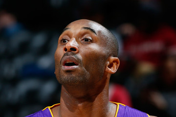 Kobe Bryant Los Angeles Lakers v Atlanta Hawks