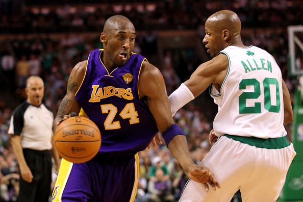 Kobe+Bryant+Ray+Allen+NBA+Finals+Game+3+