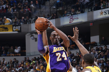 Kobe Bryant Los Angeles Lakers v Indiana Pacers