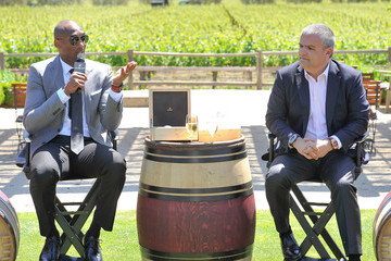 Kobe Bryant Hublot Celebrates New Timepiece With Kobe Bryant In Napa Valley
