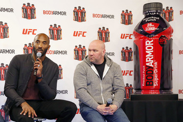 """Kobe Bryant Kobe Bryant and BODYARMOR to Announce Partnerships With 4 UFC Fighters and Unveil New UFC Flavor Knockout Punch"""""""