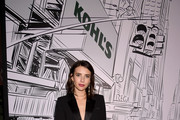 """Emma Roberts kicks off the Holiday Season with Kohl's at their """"New Gifts At Every Turn"""" pop-up on November 06, 2019 in New York City."""