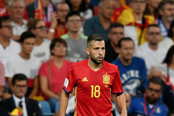 Koke Spain v Italy - FIFA 2018 World Cup Qualifier