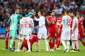 Koke Iran Vs. Spain: Group B - 2018 FIFA World Cup Russia