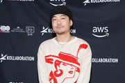 Dumbfoundead attends Kollaboration Star 2019 at Cafe Club Fais Do-Do on December 07, 2019 in Los Angeles, California.
