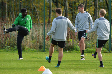 Kolo Toure Celtic Training and Press Conference