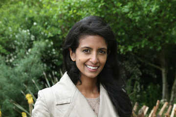 Konnie Huq Sentebale 'Hope In Vunerability' Garden at the Chelsea Flower Show