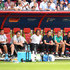 Thomas Schneider Photos - The Germany staff members looks dejected during the 2018 FIFA World Cup Russia group F match between Korea Republic and Germany at Kazan Arena on June 27, 2018 in Kazan, Russia. - Korea Republic Vs. Germany: Group F - 2018 FIFA World Cup Russia