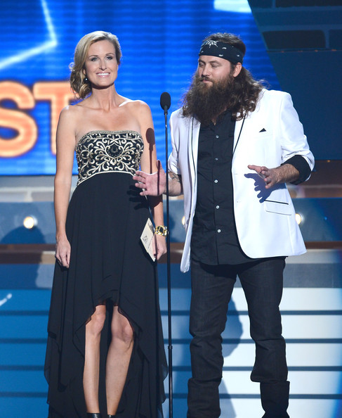 Korie Robertson TV personalities Korie Robertson (L) and Willie ...