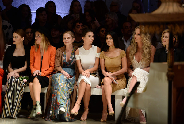 alice + olivia by Stacey Bendet and Neiman Marcus Present See-Now-Buy-Now Runway Show - Front Row and Backstage
