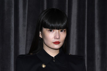 Kozue Akimoto Givenchy : Front Row - Paris Fashion Week Womenswear Fall/Winter 2018/2019