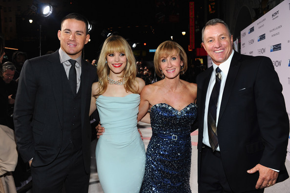Krickitt Carpenter Actors Channig Tatum and Rachel McAdams pose with Krickitt and Kim Carpenter at the premiere of Sony Pictures' 'The Vow' at Grauman's Chinese Theatre on February 6, 2012 in Hollywood, California.