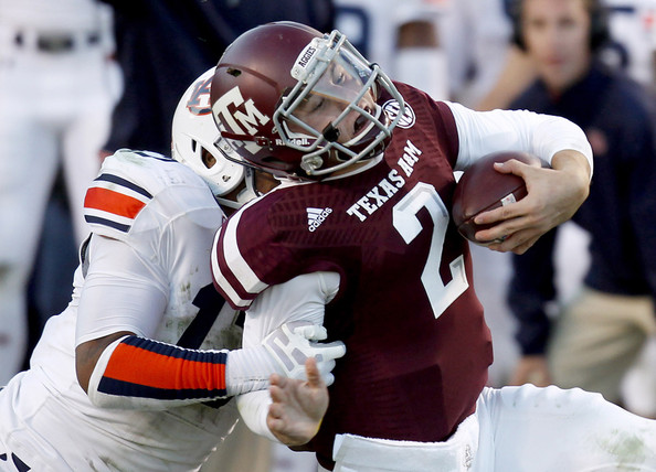 All New Ford Specials In College Station Texas College Station Ford Kris Frost Photos Photos - Auburn v Texas A&M - Zimbio