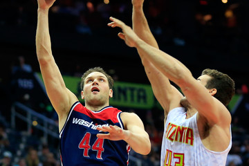 Kris Humphries Washington Wizards v Atlanta Hawks - Game Three