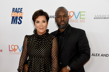 Kris Jenner Corey Gamble 26th Annual Race To Erase MS Gala - Arrivals