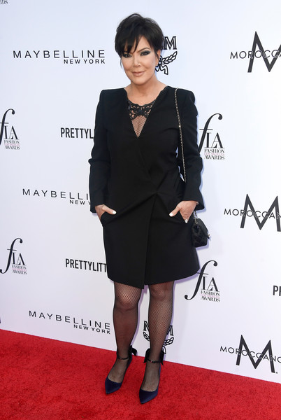 The Daily Front Row's 4th Annual Fashion Los Angeles Awards - Arrivals [clothing,red carpet,little black dress,dress,carpet,footwear,fashion,formal wear,shoulder,joint,arrivals,kris jenner,beverly hills hotel,california,daily front row,the daily front row,4th annual fashion los angeles awards]