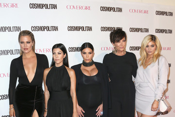 Kris Jenner Kylie Jenner Cosmopolitan Magazine's 50th Birthday Celebration - Arrivals