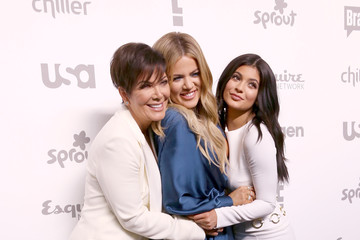 Kris Jenner Kylie Jenner 2015 NBCUniversal Cable Entertainment Upfront