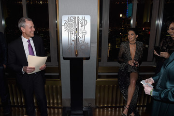 Kris Jenner Harper's BAZAAR 150th Anniversary Event Presented With Tiffany & Co at The Rainbow Room - Inside