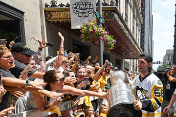 Kris Letang Pittsburgh Penguins Victory Parade and Rally