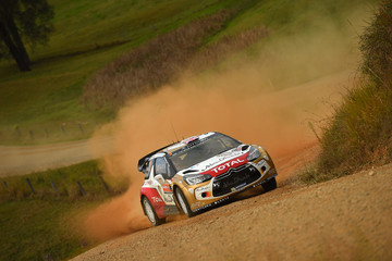 Kris Meeke FIA World Rally Championship Australia - Day Two