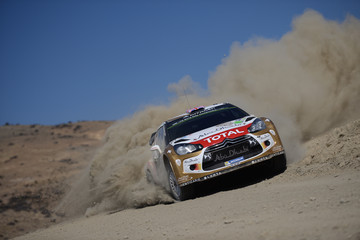 Kris Meeke FIA World Rally Championship Mexico - Day One