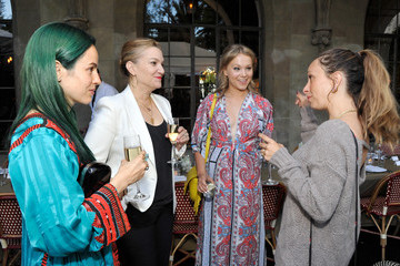 Krista Smith Poppy Jamie Guests Attend the AG Jeans and Vanity Fair Dinner Party Hosted by Eric Buterbaugh