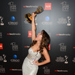 Kristen Alderson Press Room at the 40th Annual Daytime Emmy Awards