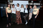 (L-R) Lala Kent, Brittany Cartwright, Kristen Doute, Stassi Schroeder, Kate Maloney, Scheana Marie, and Ariana Madix attend Kristen Doute's James Mae Launch Party on June 28, 2018 in West Hollywood, California.