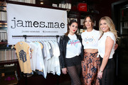 (L-R) Kate Maloney, Kristen Doute, and Stassi Schroeder attend Kristen Doute's James Mae Launch Party on June 28, 2018 in West Hollywood, California.