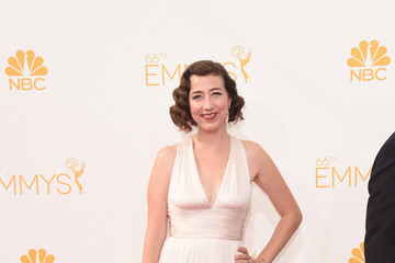 Kristen Schaal Arrivals at the 66th Annual Primetime Emmy Awards — Part 2
