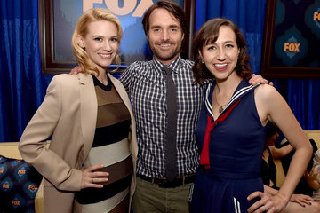Kristen Schaal Fox All-Star Party - Inside