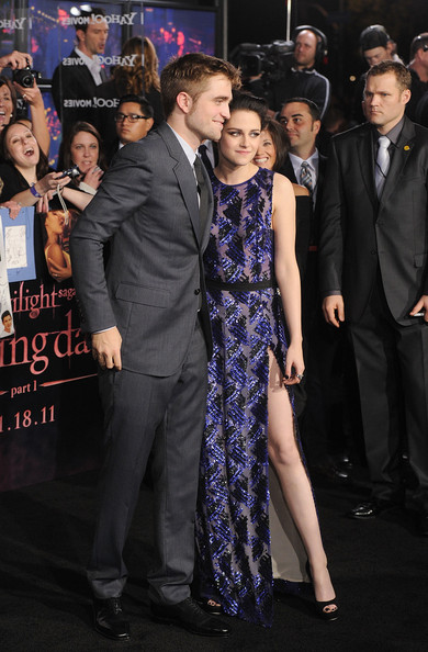 Kristen Stewart and Robert Pattinson - The Premiere of 'Breaking Dawn'