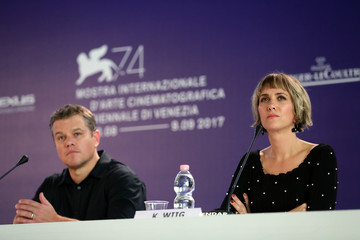 Kristen Wiig Downsizing Press Conference and Photo Call at the 74th Venice Film Festival