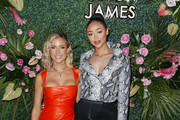 Kristin Cavallari and Bella Harris attend the Uncommon James SS20 Launch Party hosted by Kristin Cavallari at Gracias Madre on March 05, 2020 in West Hollywood, California.