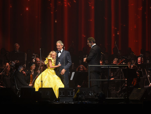 Andrea Bocelli Performs In Concert   New York City