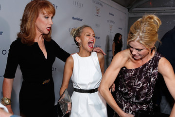 Kristin Chenoweth Kathy Griffin The Launch Of Tie The Knot, A Charity Benefitting Aarriage Equality Through The Sale Of Limited Edition Bowties - Red Carpet