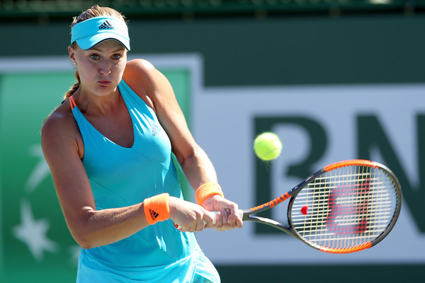 Kristina Mladenovic Knocks Out Top Seed Kerber In Stuttgart