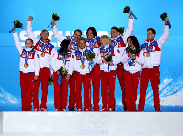 Winter Olympics: Medal Ceremonies