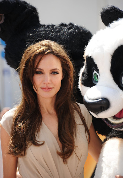 Actress Angelina Jolie attends the 'Kung Fu Panda 2' photocall during the 64th Annual Cannes Film Festival at the Carlton Hotel on May 12, 2011 in Cannes, France.