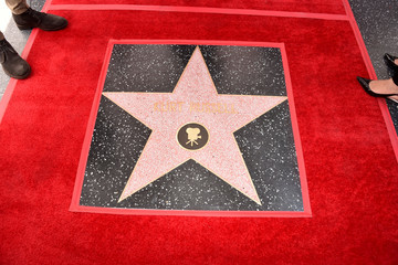 Kurt Russell Goldie Hawn and Kurt Russell Are Honored With a Double Star Ceremony on the Hollywood Walk of Fame