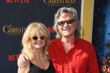 Kurt Russell Goldie Hawn Premiere Of Netflix's 'The Christmas Chronicles' - Arrivals