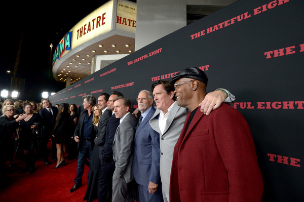 The Weinstein Company Presents the World Premiere of 'The Hateful Eight' - Red Carpet