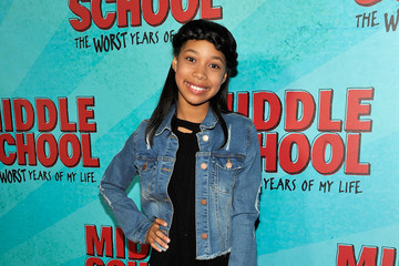 Kyla Drew Simmons Los Angeles Red Carpet Screening of 'Middle School: The Worst Years of My Life'