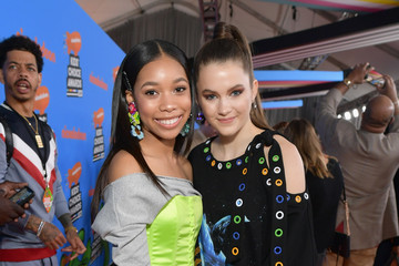 Kyla Drew Simmons Nickelodeon's 2018 Kids' Choice Awards - Red Carpet
