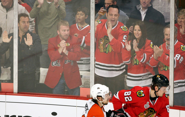 Celebrities at NHL Finals Game 5