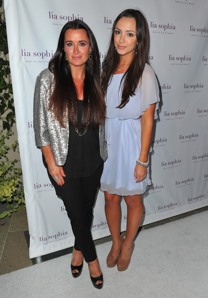 Kyle richards and farrah umansky photos lia sophia celebrates