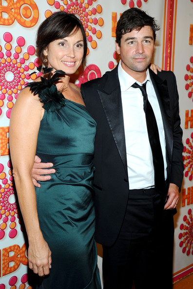 Kyle Chandler with cool, beautiful, sexy, Wife Kathryn Chandler