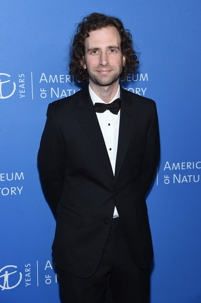 American Museum Of Natural History 2019 Gala [suit,formal wear,tuxedo,white-collar worker,premiere,tie,facial hair,blazer,electric blue,outerwear,kyle mooney,american museum of natural history,american museum of natural history 2019 gala,new york city,gala]