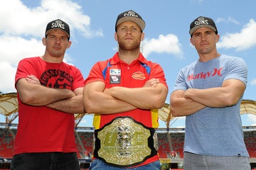 Kyle Noke UFC Fighters Meet with Gold Coast Suns